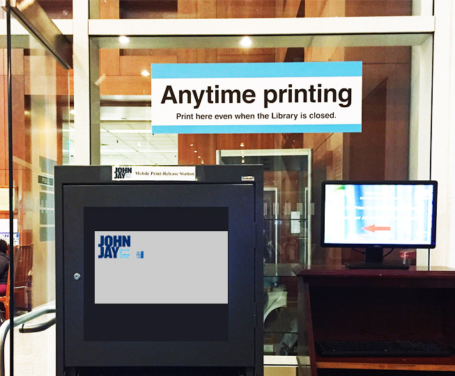 Anytime Printing station