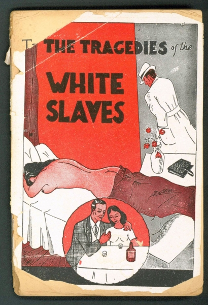 Book cover: The Tragedies of the White Slaves