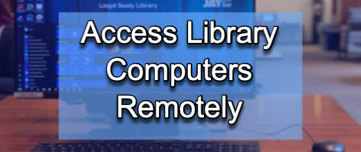 desktop computer image and remote access information