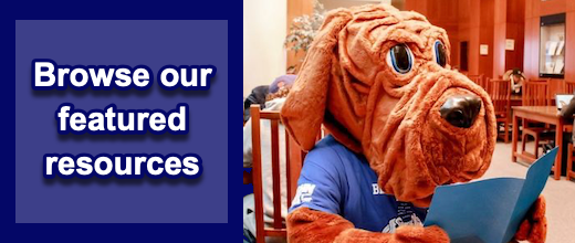 Mascot reading featured resources